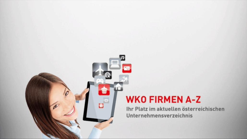 Das Firmen A-Z der Wirtschaftskammer Österreich WKO
