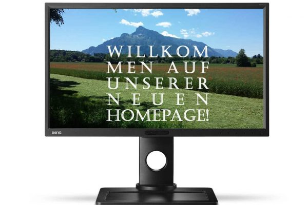 Homepage ohne Texte