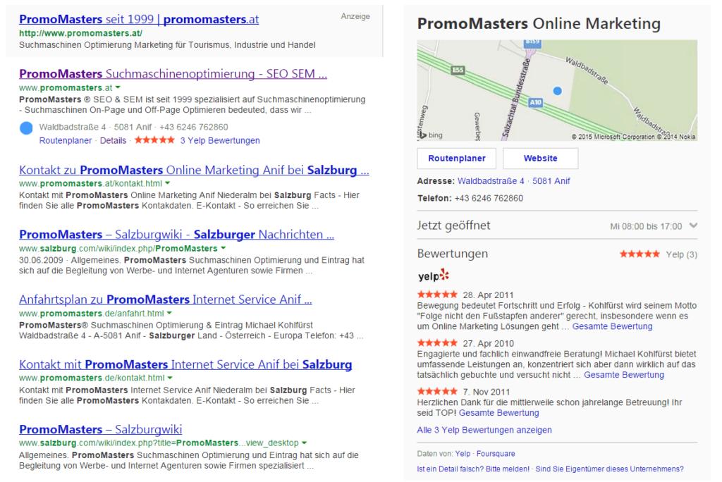 Suchergebnis für PromoMasters Salzburg bei Bing
