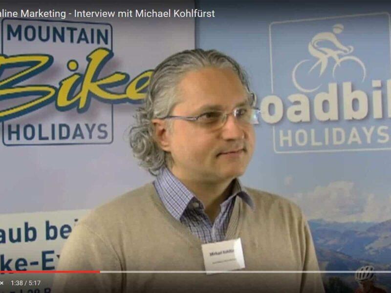 Experte Michael Kohlfürst im Interview zu den Trends im Online Marketing.