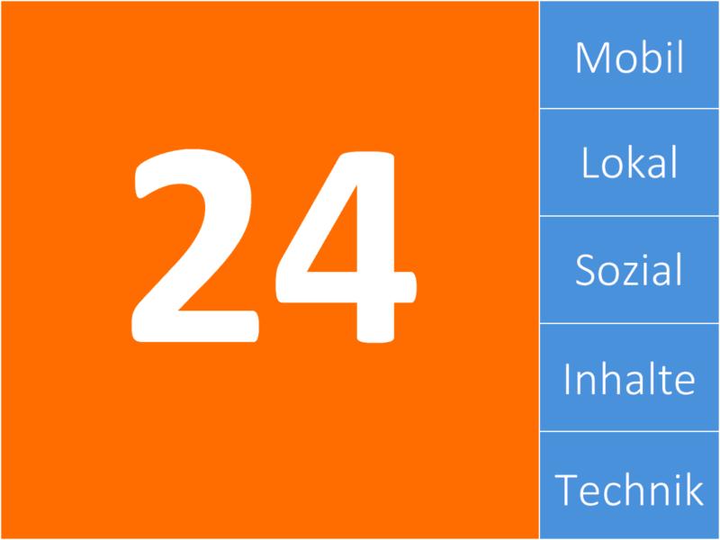 24 SEO Tipps von PromoMasters zu Suchmaschinenoptimierung.
