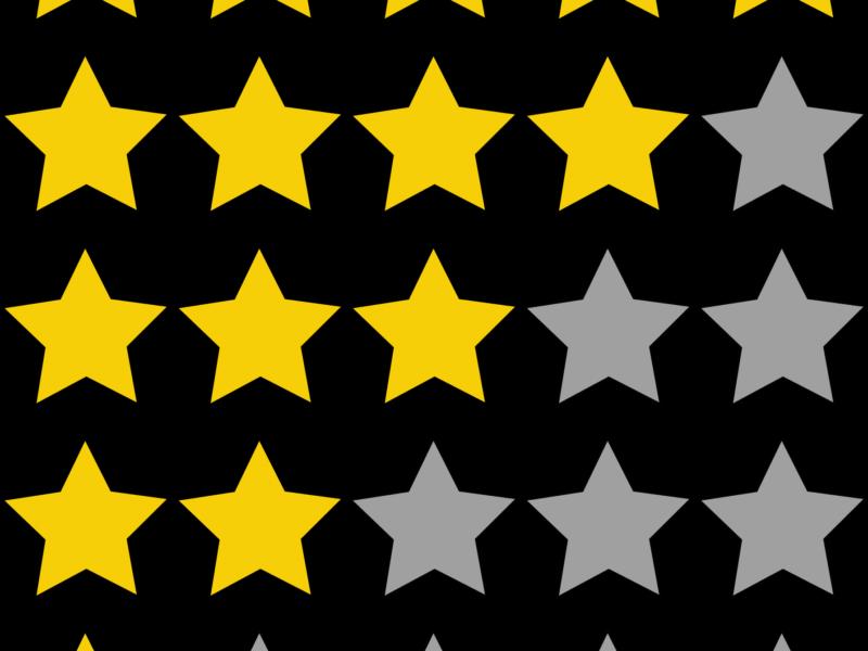 Das Ziel im Empfehlungsmarketing - Zufriedene Kunden und 5 Sterne Bewertungen. 1 oder 5 Sterne - nicht nur ein Frage der Qualität sondern auch des persönlichen Empfindens und der Motivation.