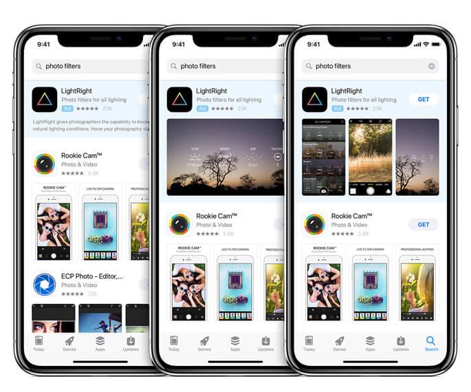 Bezahlte Werbung für iOS Apps im Apple App Store sorgt für mehr Bekanntheit und höhere Installationszahlen CPA CPT TTR