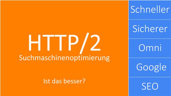 HTTP/2 - das neuere schnellerer sicherere Internet