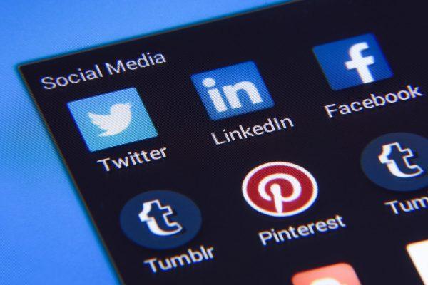 Social Kanäle wie Pinterest